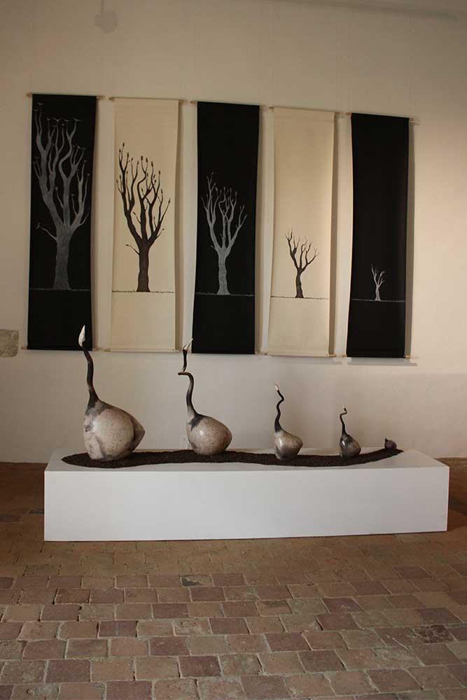 Les travaux de la céramiste Audrey Kimmel