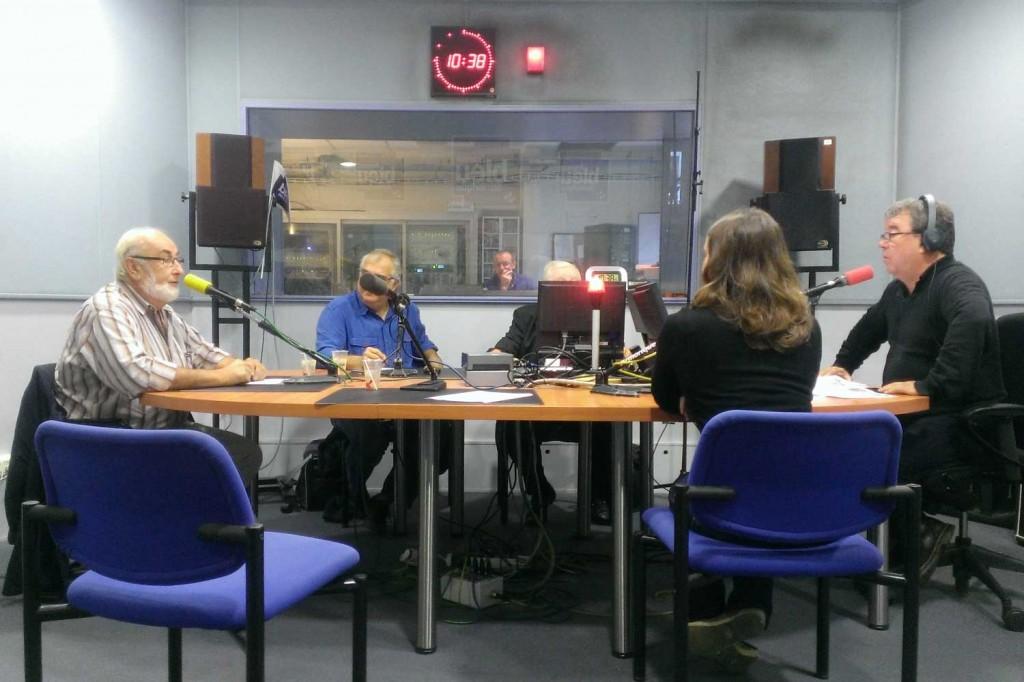 Studio à Rennes de la radio France Bleu Armorique