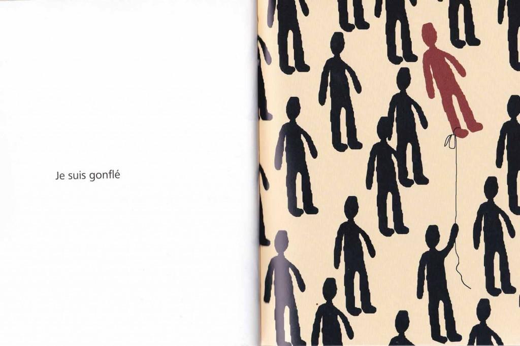 """Page du livre """"Je suis """" de Antonin Louchard"""