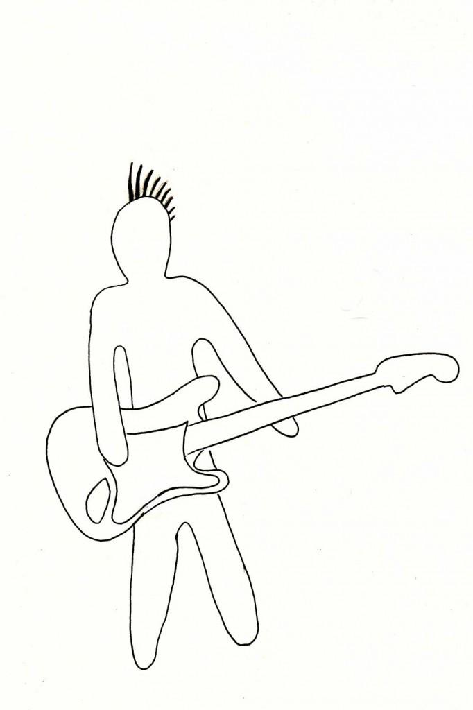"""Je suis une rock star"""
