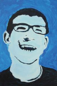 Portrait réalisé par un résident.