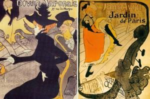Affiches de Henri de Toulouse-Lautrec.
