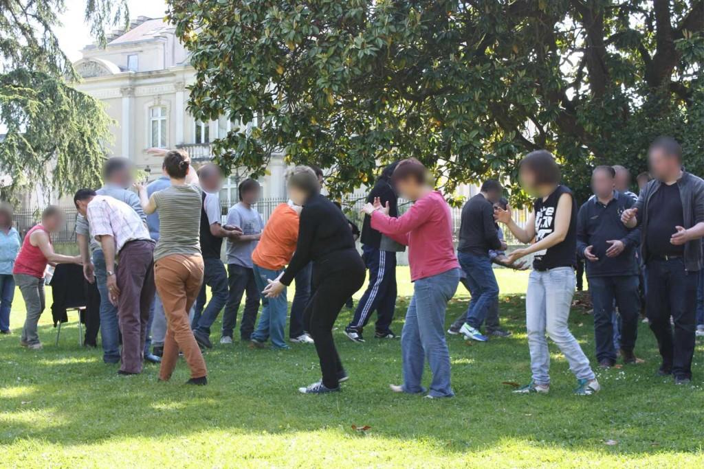 Spectacle de danse réalisé le 27 mai 2015 au Château de Mayenne.