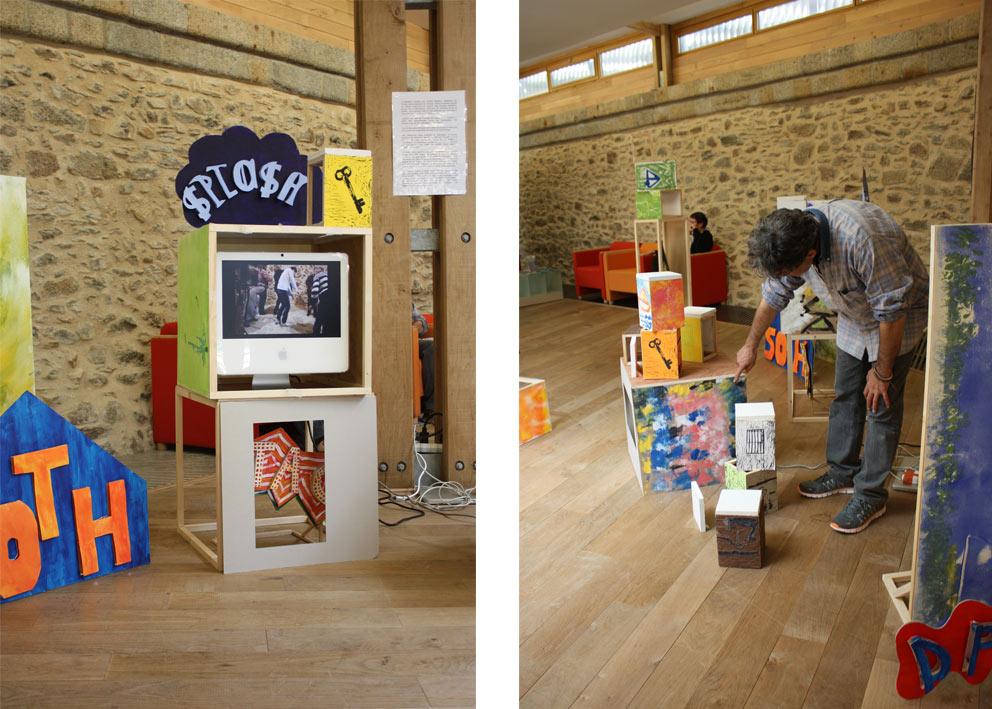 Installation et exposition des différents projets