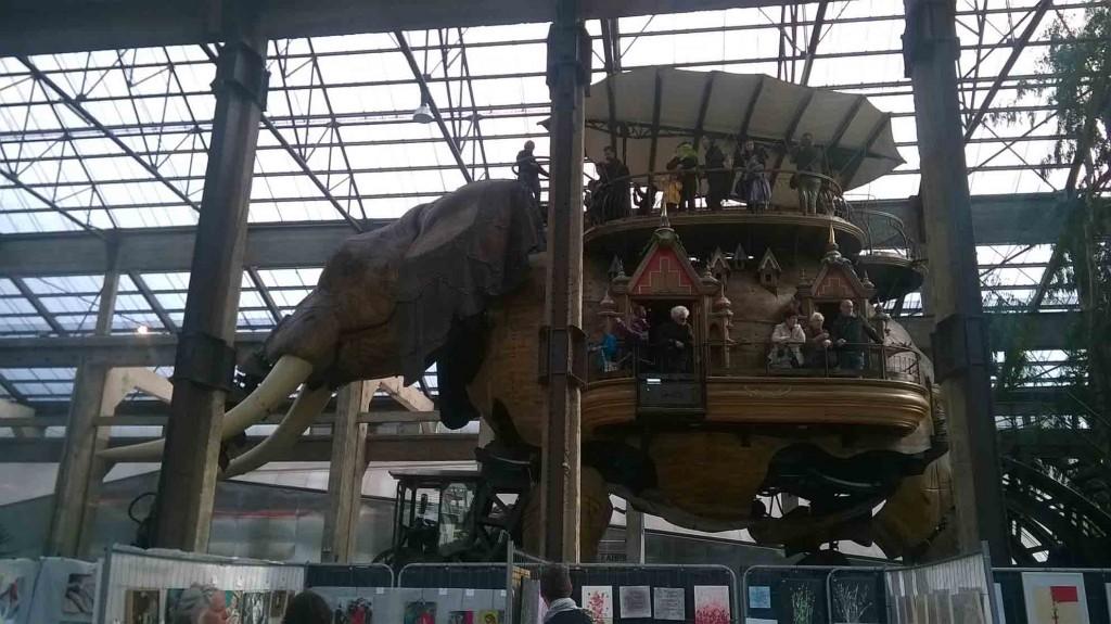 L'éléphant de Nantes.