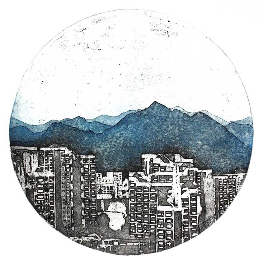 Paysage Hiroshima Japon